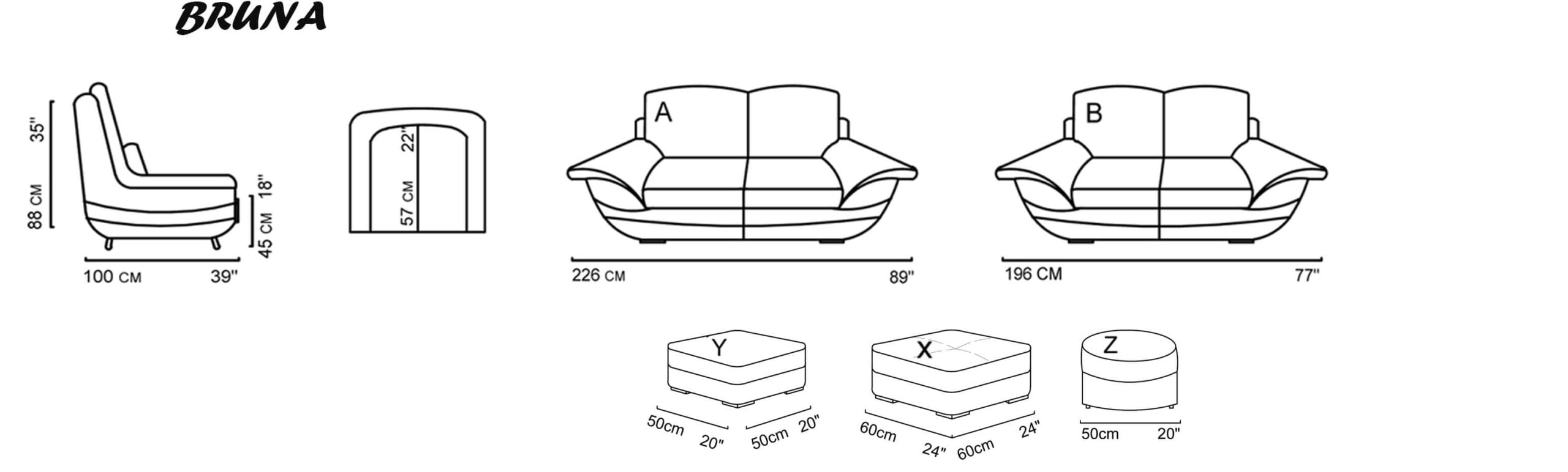 bruna sofa giotto living sofa relax sofa ange sofa sofabed