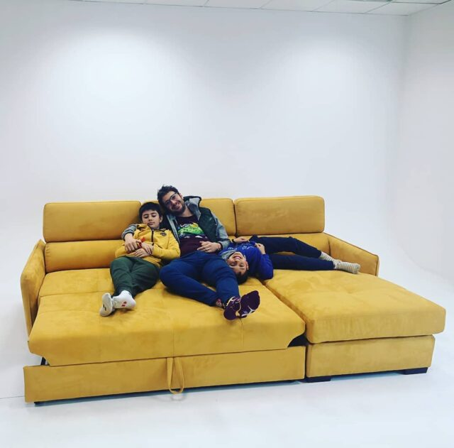 Happy fathers' day! Stay positive, we will hug again! #sofa #fathersday #furniture