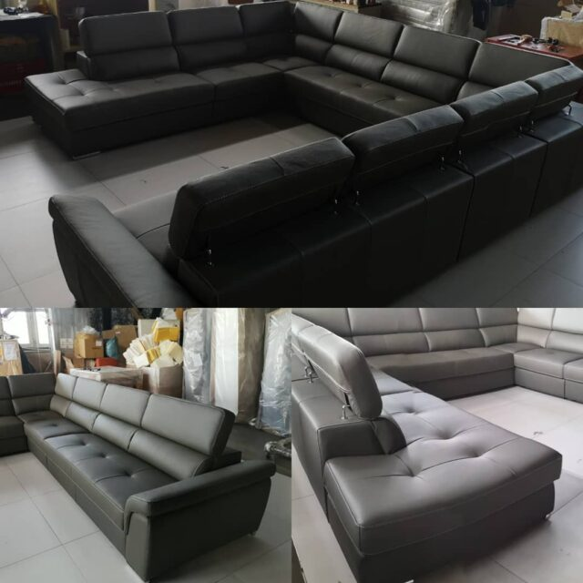 12 SEATER SOFA, BY Gi. Otto Living Sofa. Huge sofa set, for you, your family and guests. Stay positive. #leather #furniture #leatherfurniture #craftquality #upholstery #sofa #sofabed