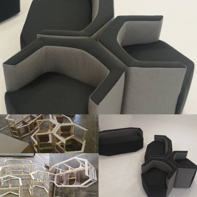 From the research of new forms, Gi. Otto Living Sofa creates Diamante, three seater, two seater and chair. A great solutions for waiting rooms and lounges. Unique combination of design, comfort and practicity. #sofas #upholstery #loungefurniture